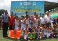 Hóc Môn vô địch giải bóng đá học sinh U10 TPHCM năm 2019