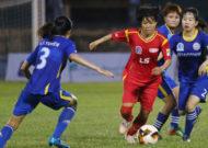 TPHCM vô địch lượt đi giải bóng đá nữ VĐQG - cúp Thái Sơn Bắc 2019