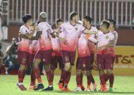 """Thắng """"chung kết ngược"""" Sài Gòn FC thoát nhóm cầm đèn đỏ"""