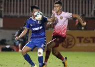 CLB TPHCM và Sài Gòn FC cùng thua ở vòng 20 Wake-up 247 V-League 2019