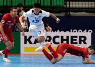 Thái Sơn Nam thua đội bóng Nhật Bản tại bán kết giải futsal các CLB châu Á 2019