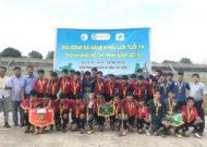 Củ Chi lần đầu giành ngôi vô địch giải bóng đá năng khiếu U14 TPHCM năm 2019
