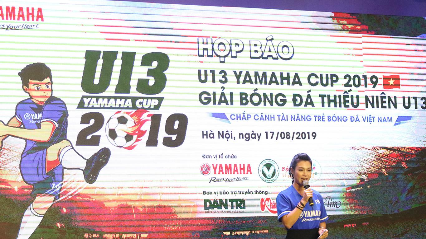Giải bóng đá thiếu niên U13 cúp Yamaha năm 2019