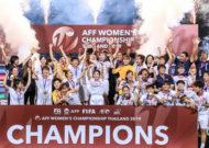 Đánh bại Thái Lan nữ Việt Nam lên ngôi vô địch Đông Nam Á 2019