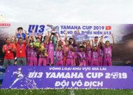 FC Hùng Nguyễn Vô địch Chung kết vòng loại khu vực Gia Lai Giải U13 Yamaha Cup 2019