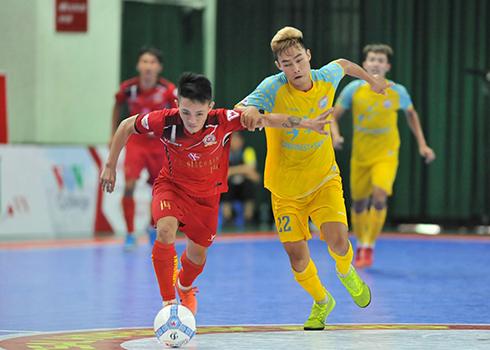 Vòng 18 giải Futsal HDBank VĐQG 2019: Thua đậm Kardiachain, SS.Khánh Hòa vẫn giành HCĐ