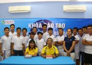 Bế mạc khóa đào tạo lớp huấn lyện viên Futsal sơ cấp 2019