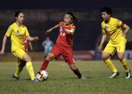 Giải VĐQG nữ Cup Thái Sơn Bắc 2019: TNG Thái Nguyên thắng đậm, chủ nhà chia điểm