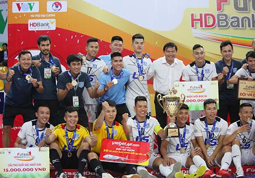 VCK giải Futsal HDBank VĐQG 2019: Thái Sơn Nam bảo vệ thành công ngôi vô địch