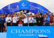 Hồng Lĩnh Hà Tĩnh vô địch giải hạng nhất 2019