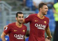 Edin Dzeko hails Henrikh Mkhitaryan after his Roma debut