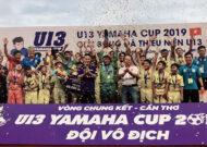 U13 Phú Nhuận TP.HCM vô địch VCK U13 toàn quốc Cup Yamaha 2019