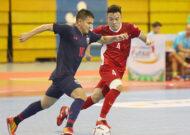 Giải futsal HD Bank vô địch Đông Nam Á 2019: ĐT Việt Nam thất thủ 0-2 trước Thái Lan