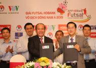 Giải Futsal HDBank Vô địch Đông Nam Á 2019: ĐT Futsal Việt Nam rơi vào bảng đấu khó