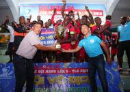 Học trò HLV Park Hang Seo làm từ thiện, đội bóng châu Phi African Team Việt Nam vô địch giải Thiên Long các đội mạnh 2019