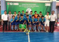 Giải hội khỏe phù đổng TP. HCM môn futsal nam khối THPT 2019: Bình Thạnh lên ngôi vô địch