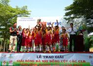 Bế mạc giải nhi đồng Bình Dương lần 1 năm 2019: CLB Phú Mỹ chính thức lên ngôi vô địch