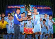 Bế mạc giải bóng đá 7 người Cúp Bình Thắng 2019: FC 3A4H chính thức đăng quang ngôi vô địch