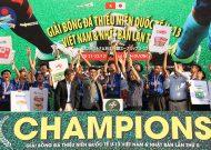 Bế mạc giải U13 Việt Nam – Nhật Bản lần 2-2019: Chủ nhà B.Bình Dương lên ngôi vô địch