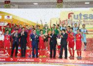 Giải Futsal HDBank Cúp QG 2019: Sanatech Khánh Hòa đăng quang ngôi vô địch