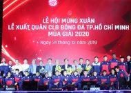 CLB TP.HCM xuất quân hoành tráng tham dự mùa giải 2020