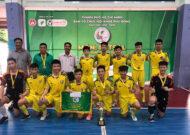Giải futsal học sinh THCS TP.HCM: Quận 1 lên ngôi vô địch