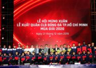 HCMC FC's starting ceremony with the appearance of 2 new players Nguyễn Công Phượng and GK Bùi Tiến Dũng