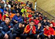 ĐT Futsal Việt Nam tập nhẹ sau trận thắng Malaga CF