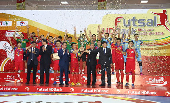 Đăk Lăk lần đầu trở thành chủ nhà giải futsal quốc gia