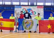 Tuyển futsal Việt Nam có chiến 6-2 trước Malaga CF trên đất Tây Ban Nha