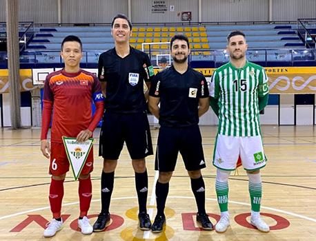 Tuyển futsal Việt Nam kết thúc chuyến tập huấn Tây Ban Nha thua sát nút 1-2 Real Betis