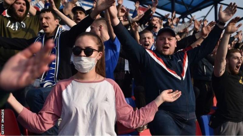 Coronavirus: Belarus football carrying on 'not comprehendible' - Fifpro