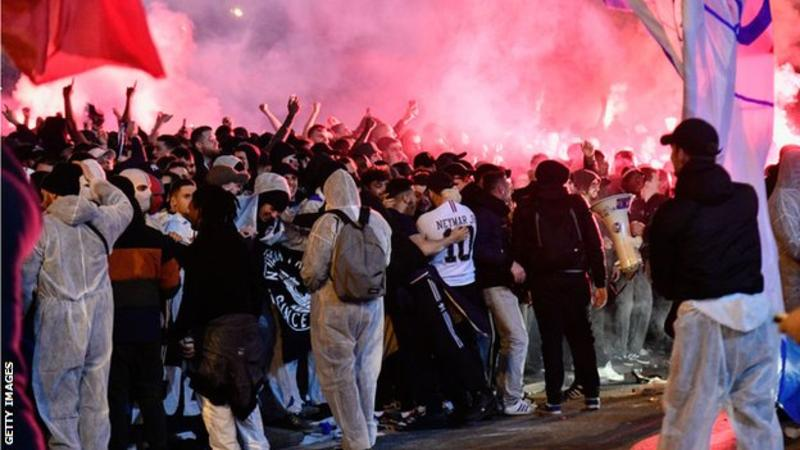 Champions League & Europa League suspended 'until further notice'