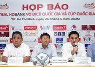 Công bố nhà tài trợ chính giải Futsal HDBank VĐQG 2020 và giải Futsal HDBank Cúp Quốc gia 2020