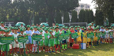 120 trường tiểu học TP. Hồ Chí Minh dự VCK Festival bóng đá học đường