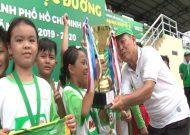 Thuận Kiều (Quận 12) gây ấn tượng tại VCK Festival bóng đá học đường 2019-2020