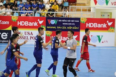 Lượt 8 giải futsal VĐQG - Thái Sơn Nam củng cố ngôi đầu
