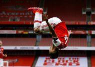 Aubameyang fastest Arsenal player to 50 Premier League goals after Norwich keeper Krul's howler