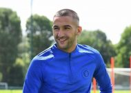 Hakim Ziyech: New Chelsea signing trains at Cobham for first time