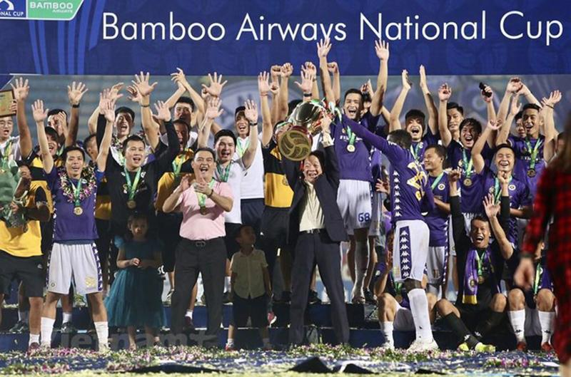 Đánh bại Viettel Hà Nội FC vô địch Cup QG 2020
