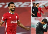 Football is back - and so is Salah! Liverpool make good on Klopp's promise to attack Premier League title