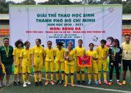 Bế mạc Giải Thể thao học sinh TP.HCM năm học 2020-2021: Trường Đặng Văn Ngữ quận Phú Nhuận vô địch