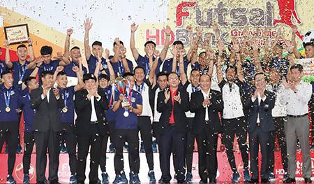 Chùm ảnh: Thái Sơn Nam đăng quang ngôi vô địch giải futsal HD Bank VĐQG 2020
