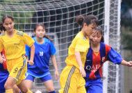 Quận 1 thể hiện sức mạnh tại giải Thể thao môn bóng đá nữ khối THCS và THPT
