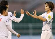 Vòng 8 giải VĐQG nữ Cúp Thái Sơn Bắc 2020: Hà Nội I Watabe lên đầu bảng