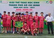 Giải bóng đá khối lớp 8&9: Phú Nhuận và Bình Thạnh nhận huy chương đồng