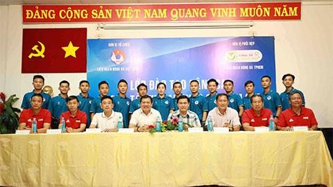 Khai giảng Lớp đào tạo nâng cao trọng tài futsal quốc gia 2020