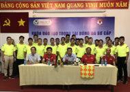 Khai giảng lớp trọng tài bóng đá sơ cấp TP.HCM 2020