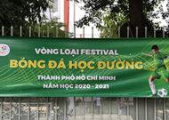 Festival bóng đá học đường tại trường tiểu học Tân Sơn Nhì quận Tân Phú