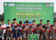 Giải Thể thao học sinh THPT Nguyễn Thị Định chạm trán năng khiếu Bình Chánh trận chung kết